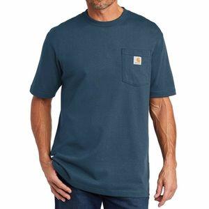 Men's Carhartt Workwear Pocket Tee - Blue, L (NWT)